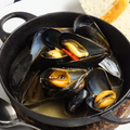 料理メニュー写真ムール貝のワイン蒸し