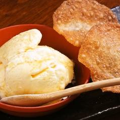 料理メニュー写真餃子アイス
