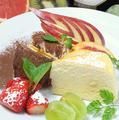 料理メニュー写真【店主とスタッフの自家製!】デザートの盛り合わせ
