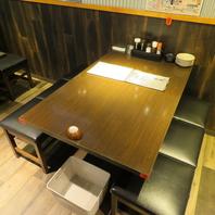 海鮮大衆居酒屋でご宴会を!ゆったりテーブル完備!
