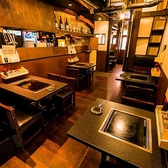 ≪昭和の雰囲気も感じられる≫ちょっとおしゃれな下町のもんじゃ屋さんという雰囲気でお食事が愉しめるお席です♪