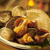 貝の豊富!千葉県産白はまぐり焼きが大人気!