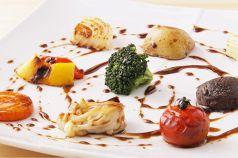 料理メニュー写真焼き野菜のバルサミコソース