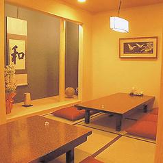 【1階お座敷個室】4名~8名までOK!プライベート感のある個室はちょっとした集まりや急な飲み会にもぜひご利用くださいませ♪