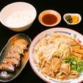 料理メニュー写真お好きなラーメンチケット+ギョーザセット(ごはん、ギョーザ)