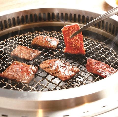圧倒的なコスパを実現!お肉のプロが厳選した上質肉を七輪でお楽しみいただけます♪