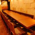 机は連結可能!16名様まで一つのテーブルでお食事できます♪
