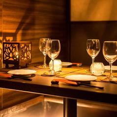 2名様から最大30名様までご利用可能な完全個室をご用意。個室でのお食事に◎プチ贅沢なワンランク上の飲み会にしませんか?