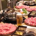 『金澤 力八』では昼宴会も承っております。11時~15時限定でお得な焼肉昼宴会コースもご用意しております。ソフトドリンク飲み放題付きなので、ママ会や肉食女子の女子会にもお勧めです。(※写真はイメージです)