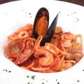 料理メニュー写真ペスカトーレ 魚介のトマトソース