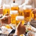 60種以上の豊富なお酒!北海道限定サッポロクラシック、地酒、地域限定サワー、カクテル、など60種類以上のメニュー[旭川/居酒屋/宴会/飲み放題/魚/肉]