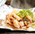 料理メニュー写真紋甲ゲソのバター醤油焼き