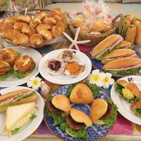 手作りパンを50種類以上ご用意
