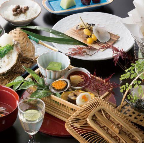 【120分飲み放題付】料理長特選本格和会席 ¥7000コース※歓送迎会にも人気!