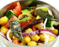 料理メニュー写真スンダル~南インド風ひよこ豆のサラダ~