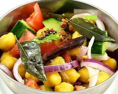 スンダル~南インド風ひよこ豆のサラダ~