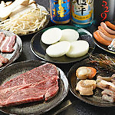 【要予約】鉄板焼きコース