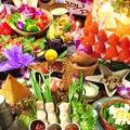 料理メニュー写真【歓送迎会、宴会、お祝いや、誕生日にも◎】☆3590円JOKEコース全8品2.5h飲放付