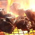 【丸九の宴会料理】ふもと赤鶏のゴロ焼(炭火焼) !豪快に2種の炭火で焼き上げる1品。フリーでも宴会でも楽しめます。