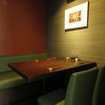 様々なシーンに対応した個室をご用意。落ち着きのある空間で本格タイ料理をお楽しみ頂けます。個室はランチタイム要予約ですよ。女子会利用にも最適♪