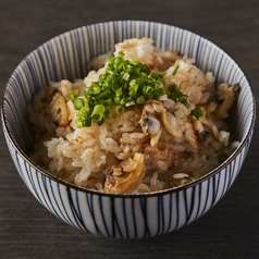 貝の炊き込みご飯