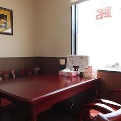 【2名様から4名様までご利用可能なテーブル席】お気軽にランチもご予約お待ちしております。