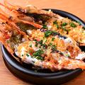 料理メニュー写真赤海老のアイオリオーブン焼き
