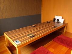 明るい雰囲気のテーブル個室もご用意しています!席の間隔も空けてご案内致します。