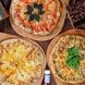 全て手作り!自家製生地×4種以上のチーズのピッツァ☆