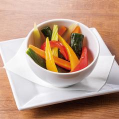 料理メニュー写真彩り野菜の手づくりピクルス