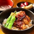 料理メニュー写真焼き鳥屋さんの焼き鳥丼