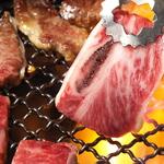 網が熱くなったらお好きなお肉を順番に♪