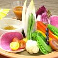料理メニュー写真冷製ソースのバーニャカウダ