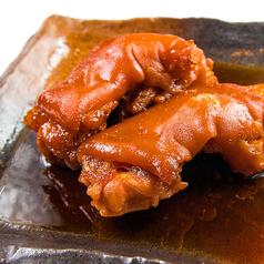 料理メニュー写真定番!沖縄料理 柔らかてびちの煮付け