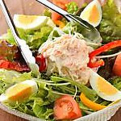 厳選 旬の特製サラダ(和風・シーザー)