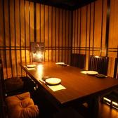 テーブル席は全席個室or半個室♪