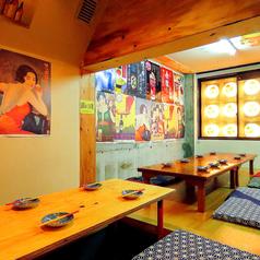 【2階】昭和レトロな雰囲気でワイワイ飲める♪