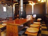 6~7名様まで座れるテーブル席が7卓/2名席と一緒にして、最大50名までの宴会可能。