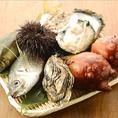 その時に美味しい旬の新鮮な海鮮をお楽しみ頂けます♪