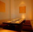 【完全個室】個室の席のご用意いります。会社宴会や接待、女子会などさまざまなシーンでご利用できます。個室の席は人気ですのでお早めのご予約をおすすめします。