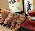 料理メニュー写真◆自慢の串焼(鶏・豚)◆