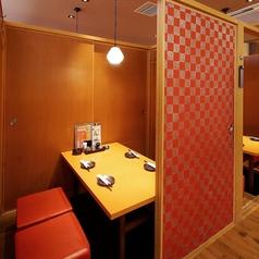 さまざまな個室をご用意♪完全個室で周りを気にせずくつろげます!女子会や合コンには個室がおすすめ♪