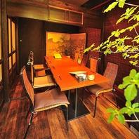 国分町の落ち着いた居酒屋。雰囲気のある個室が特徴。