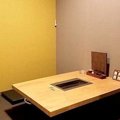 4名様用の掘りごたつ個室は2室ございます。