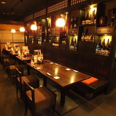 博多もつ鍋 馬肉 九州自慢 横浜ハマボールイアス店の雰囲気1