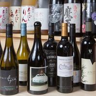 良質な肉に合ったワイン、日本酒もご用意