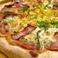 料理メニュー写真ジャーマンポテトピザ