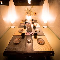 【岡山駅個室居酒屋】扉付き完全個室でプライベートを守ります。周りを気にせずお過ごしください※画像は系列店イメージ