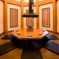 最大8名様までご利用できる個室も完備しております。みんなでワイワイ焼肉の食べ放題&飲み放題をどうぞお楽しみください!