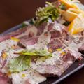 料理メニュー写真牛ヒレのローストビーフ